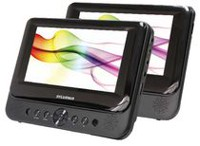 Sylvania 7-Inch Dual Screen Portable DVD Player