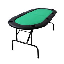Table de poker pliante d'Ovalyon