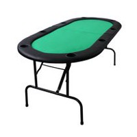 Ovalyon Folding Poker Table