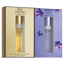 Elizabeth Arden Taylor White Diamonds 15 ml Eau De Toilette Spray + Violet Eyes 15 ml Eau De Toilette Spray (Duo Pack) -Set For Women