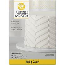 Fondant blanc Decorator Preferred 24 oz (1,5 lb) Wilton