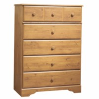 South Shore Little Treasures 5-Drawer Chest Pine
