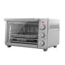BLACK+DECKER Crisp 'N Bake Air Fry 6-Slice Toaster Oven, Stainless Steel, TO3217SSC