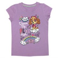 Skye's Dream Big Girls' Short Sleeve Tee Shirt XS