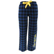 Despicable Me Ladies' License Flannel Pant with Screen Print M