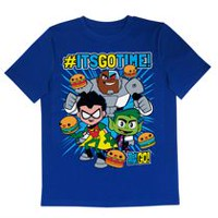 Its Go Time Boys' Short Sleeve Tee Shirt S