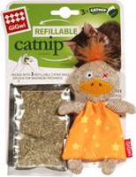 GiGwi Refillable Catnip Cotton Duck Cat Toy