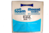 Mousse tendre de coussinage