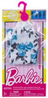 Barbie Blue Floral Print A-Line Dress