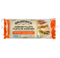 Brunswick Seafood Snacks in Hot Sauce
