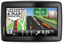 "TomTom - VIA 1535TM 5"" GPS Navigator with Built-In Bluetooth and Lifetime Map and Traffic Updates"