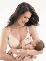 Playtex Expectant Moments Style 4115 - Underwire Nursing Bra Light Beige D40