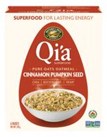 Nature's Path Qi'a Hot Oas Cinnamon and Pumpkin Seeds