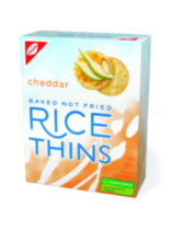 Rice Thins Cheddar