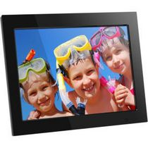 "Aluratek 15"" Digital Photo Frame with 4GB Built-In Memory"