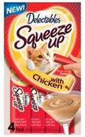 Hartz Delectables Squeeze Up Chicken Cat Treats