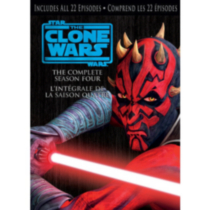 Star Wars: The Clone Wars - The Complete Season Four (Bilingual)