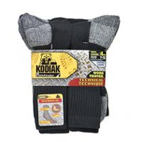 Kodiak Men's Work Crew Socks