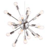 Zuo Pulsar Ceiling Lamp Chrome 50028 Walmart Canada