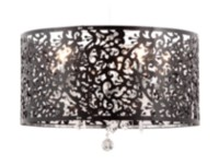 Zuo Nebula Ceiling Lamp Black (50034)