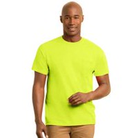 Gildan Apparel Workwear Men's Pocket T-Shirt Pack of 2 Green XL