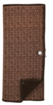 Mainstays Dish Drying Mat Brown