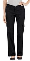 Genuine Dickies Women's Relaxed Fit Twill Cargo Pant 10