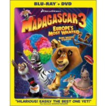 Madagascar 3: Europe Most Wanted (Blu-ray + DVD) (Bilingual)