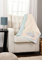 Disney Dumbo Mink and Sherpa Blanket