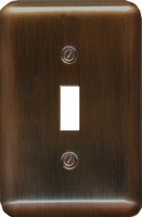 Atron Electro Industries Elite Antique Copper Toggle Wall Plate