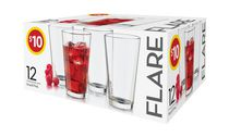 Libbey Flare Hiball Glass Set - 12 Piece