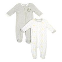 George baby Unisex Sleeper; 2-Pack 3-6 months