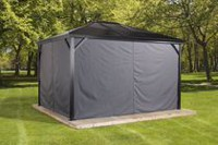 Sojag Verona Gazebo Privacy Curtains 10 X 10 ft
