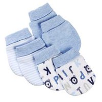 George baby Boys' Scratch Mittens; 3-Pack