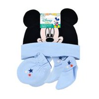 Disney Boy's Mickey Mouse Cap, Mitten and Booties