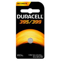 Duracell 395/399 1.5V Silver Oxide Watch/Electronic Battery