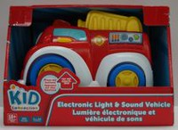 Electronic Light & Sound Vehicle - fire engine