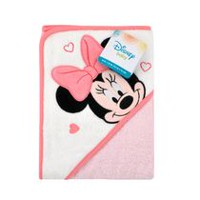 Disney Girls'  Minnie Mouse Hooded Towel