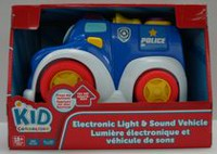 kid connection Police Car Electronic Light and Sound Vehicle