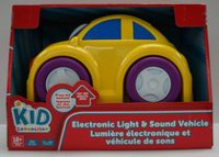 Electronic Light & Sound Vehicle - City Car