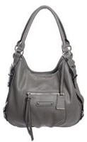 George Women's Four Poster Shoulder Bag with Tag Grey