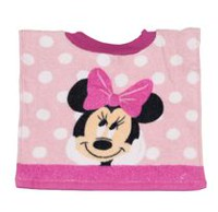 Disney Girls' Minnie Mouse Printed Bib