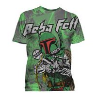 Star Wars Men's Short Sleeve Crew Neck T-shirt L