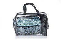 Conair Modella Quilted Moroccan 3-Piece Weekender Cosmetic Bag Set