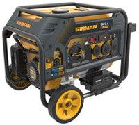 Firman Power Equipment H03651 Dual Fuel 4550/3650 Watt (Hybrid Series) Extended Run Time Generator