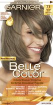 coloration permanente crme couleur facile pour cheveux belle color de garnier 71 dark ash blonde - Belle Color Blond Cendr