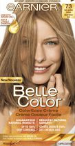 Coloration permanente Crème couleur facile pour cheveux Belle Color de Garnier 73 Dark Golden Blonde