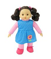 My Sweet Baby 16-inch Toddler Doll - Red Outfit