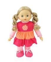 My Sweet Baby 16 Inches Toddler Doll - White blonde