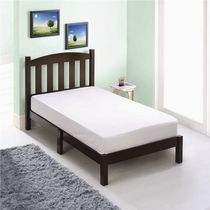Mainstays Twin wood bed